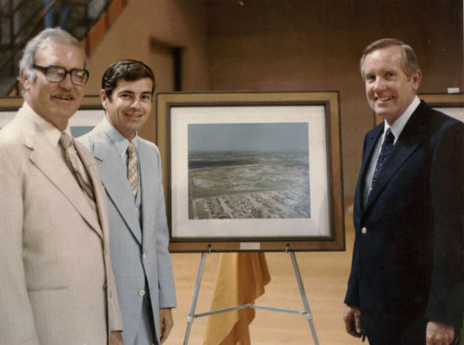 Al Langford (left) with Tom Craddick (middle) and Pete Snelson (right) Photo: Midland