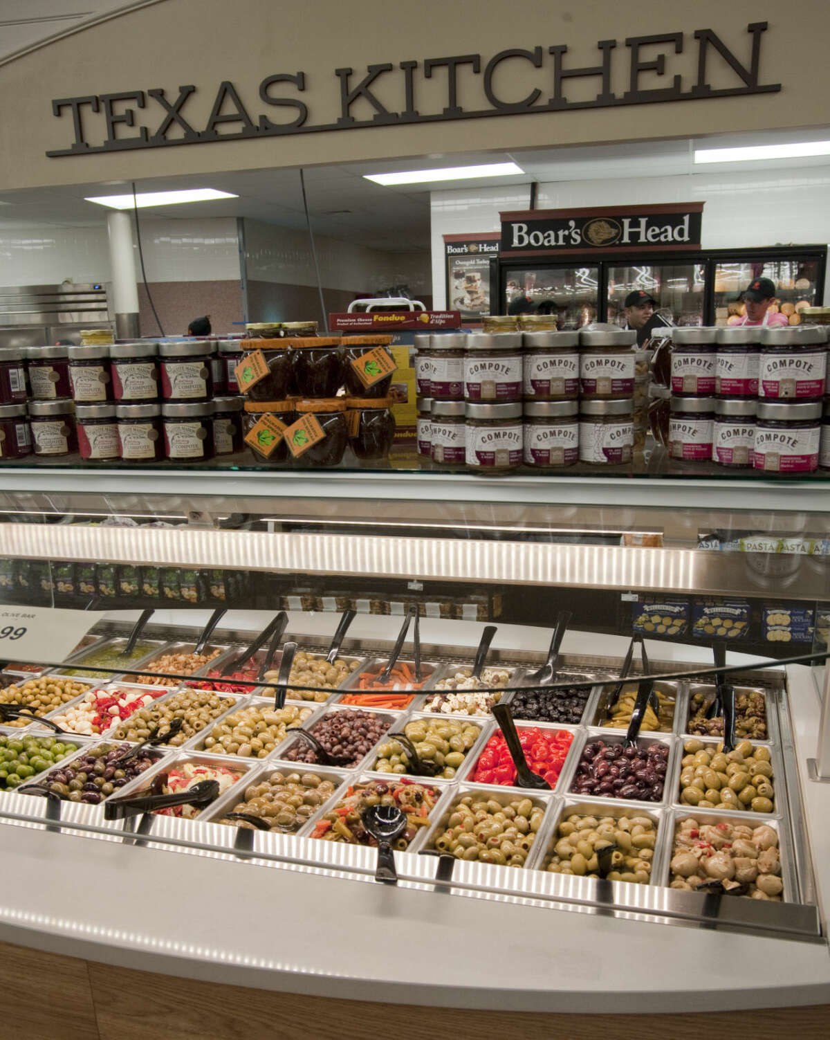Market Street renovations are nearly complete Tuesday, 6-23-15, at the old Albertson's Grocery on Midkiff and Loop 250. One of the additions is an expanded deli section including an olive bar, fresh made sushi bar, and expanded fresh and ready prepared food items. Tim Fischer\Reporter-Telegram