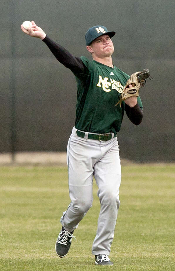 Midland College's returning second baseman and outfielder Blaine Prescott during team practice Thursday, Jan. 29, 2015 at Christensen Stadium. James Durbin/Reporter-Telegram Photo: James Durbin