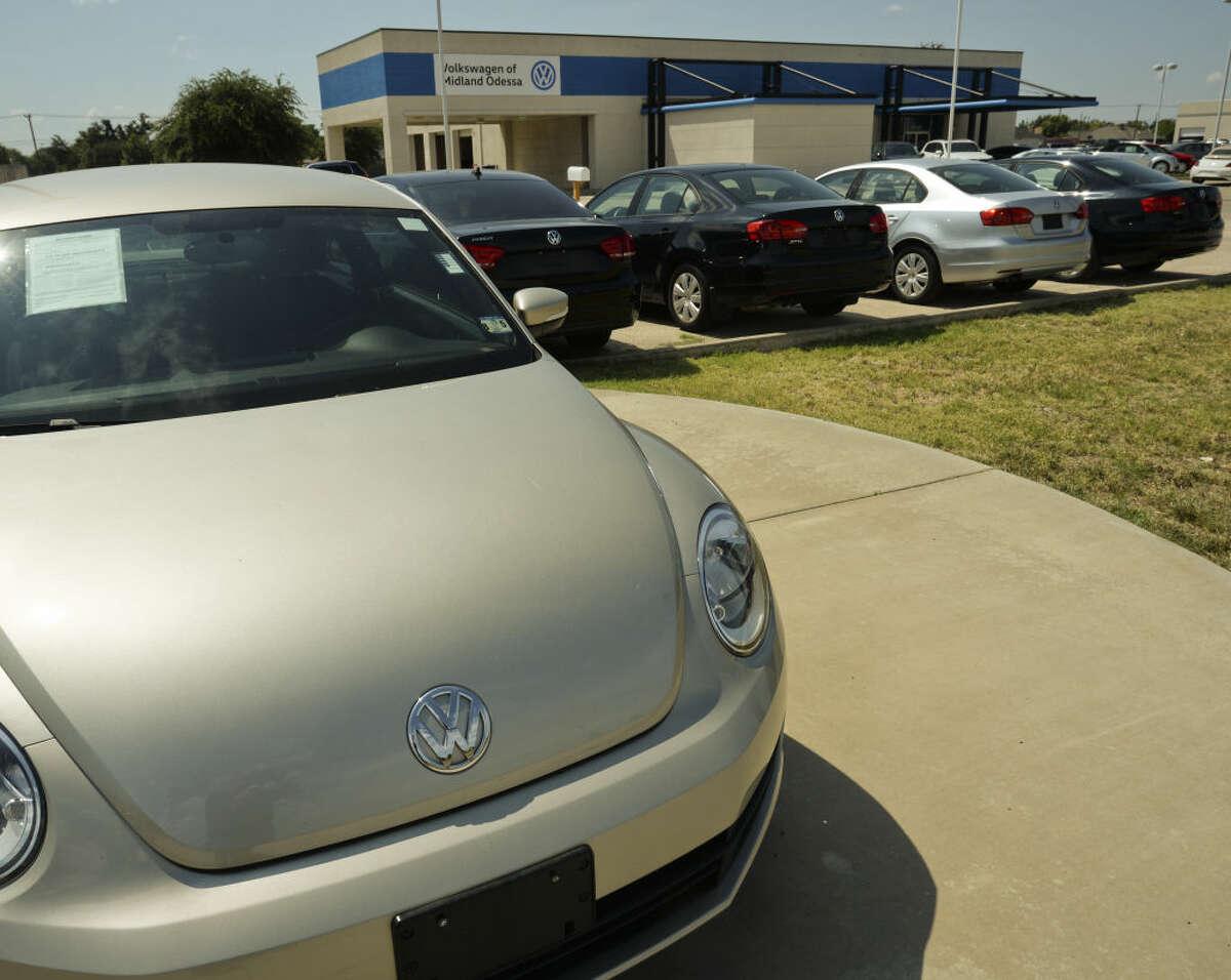 A new VW dealership is opening off Loop 250, next to Mazda of Midland, seen Monday, 6-29-15. Tim Fischer\Reporter-Telegram