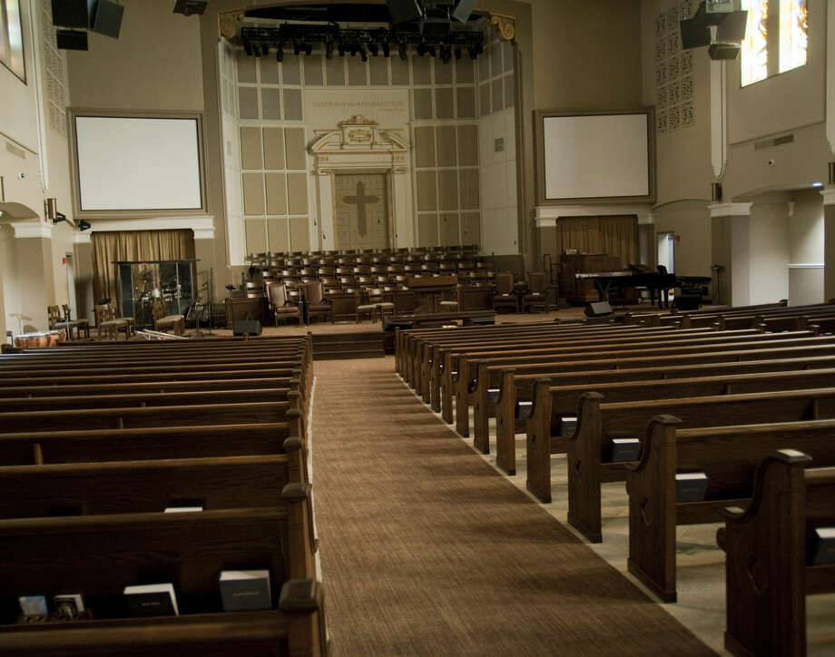 Two years after First Baptist was renovated, the church council has had to make cuts to the budget and staff. Photo: Reporter-Telegram File Photo