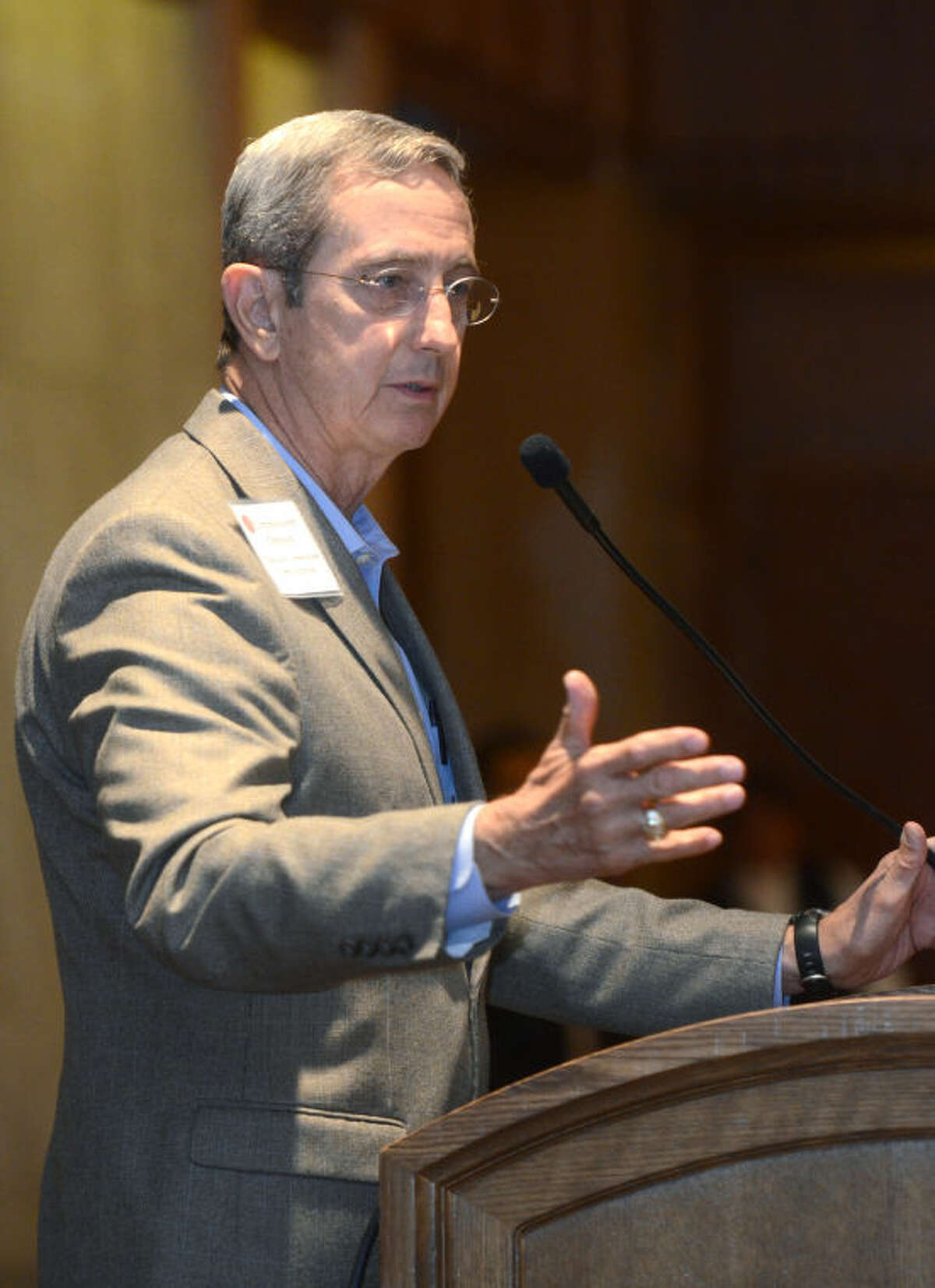 Jerry Patterson, Land Commissioner, speaks during a 2013 appearance in Midland. James Durbin/Reporter-Telegram