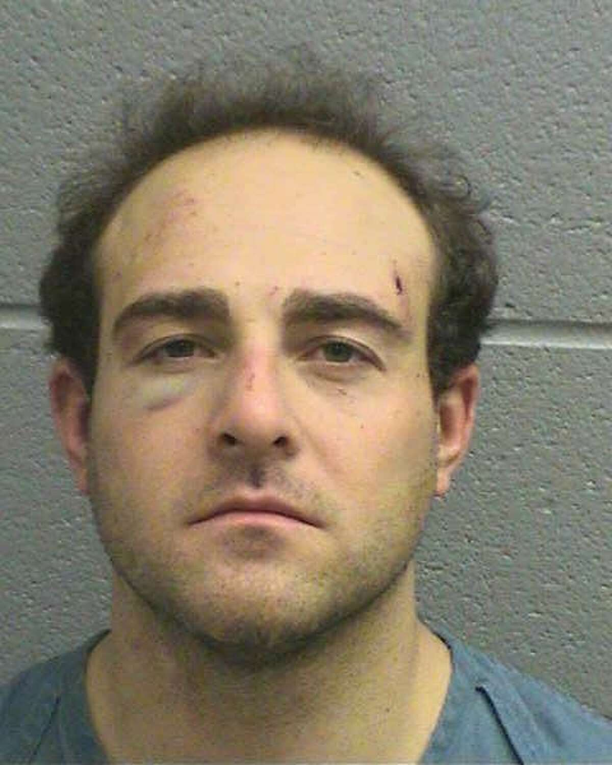 """William Charles Conrad Barnes, 32, of Midland, was arrested May 18 on a first-degree felony charge of aggravated assault against a public servant and a class B misdemeanor charge of hitting a sign.Barnes was high on """"Dust-Off"""" when he injured a police officer by breaking his leg in two places. Barnes had been fleeing on foot after he struck a sign while driving under the influence of the inhalant.If convicted, Barnes faces five to 99 years in prison for the felony charge."""