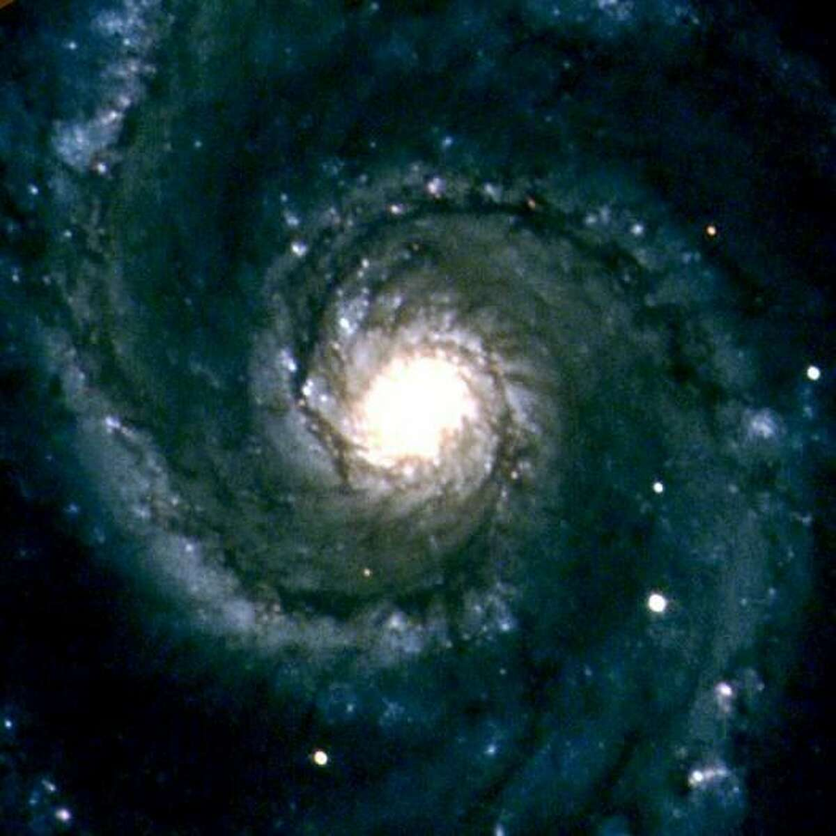 This image of the Whirlpool Galaxy (M51) was taken with the MONET North telescope at McDonald Observatory as part of the observatory's educational outreach program. Credit: K. Fricke/MONET/McDonald Obs. (funded by Astronomie & Internet, a Program of the Alfried Krupp von Bohlen und Halbach Foundation, Essen)
