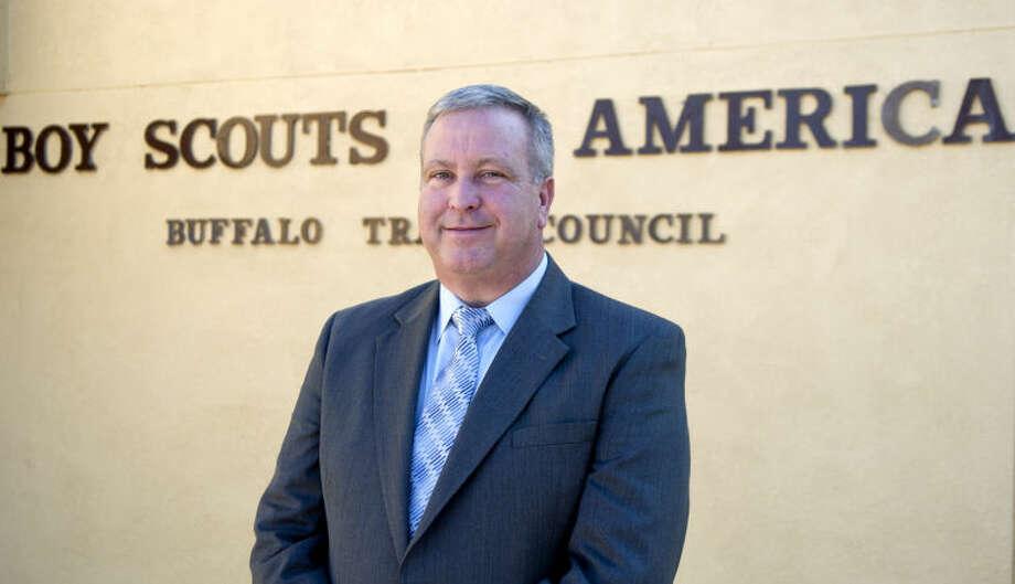 David Chapman, executive director for the Boy Scouts in the West Texas region. James Durbin/Reporter-Telegram Photo: JAMES DURBIN