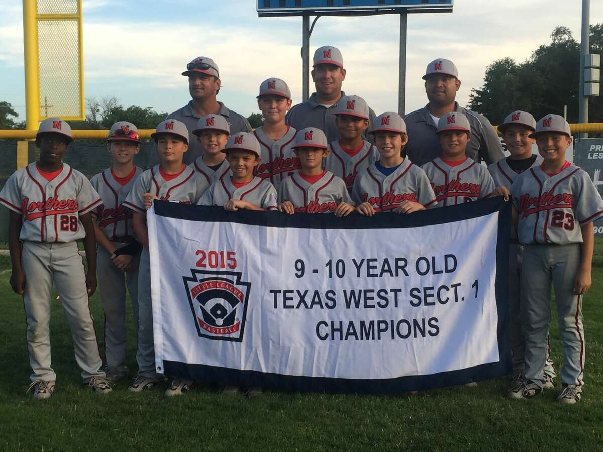 The Northern 9-10 All-Stars after winning the Section 1 championship with a 16-1 win over Lubbock Cooper Wednesday in Lubbock.