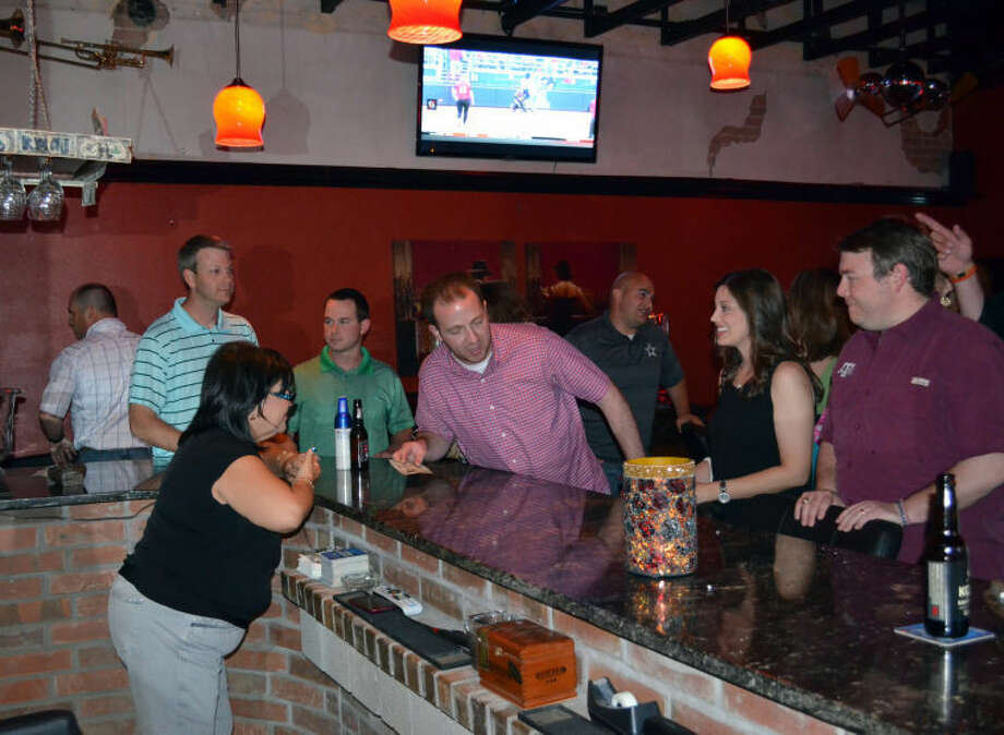 A Friday night at Bourbon Street in downtown Midland. Photo: James Cannon/MRT