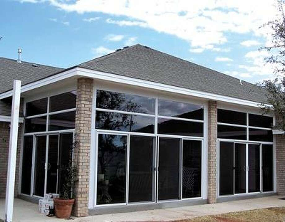 Relax in the comfort of home with a sunroom or Pergola from American Home Improvement. Call them at 550-7224 to get started!
