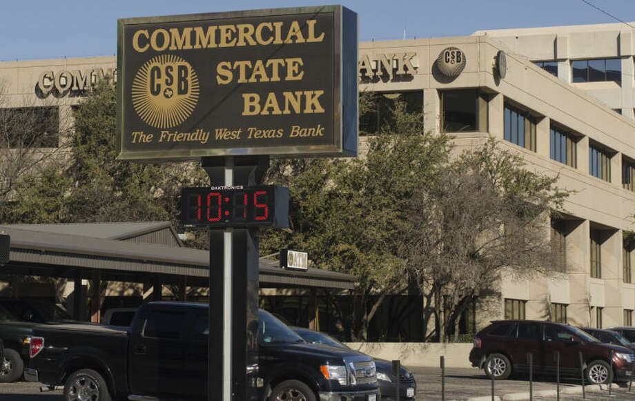 Commercial State Bank. Tim Fischer\Reporter-Telegram Photo: Tim Fischer
