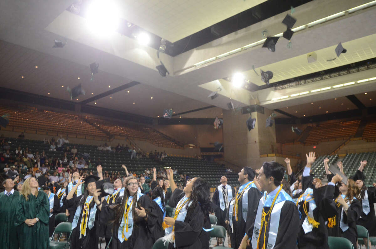 Early College High School at Midland College graduation ceremony in 2014 at the Chaparral Center. James Durbin/Reporter-Telegram