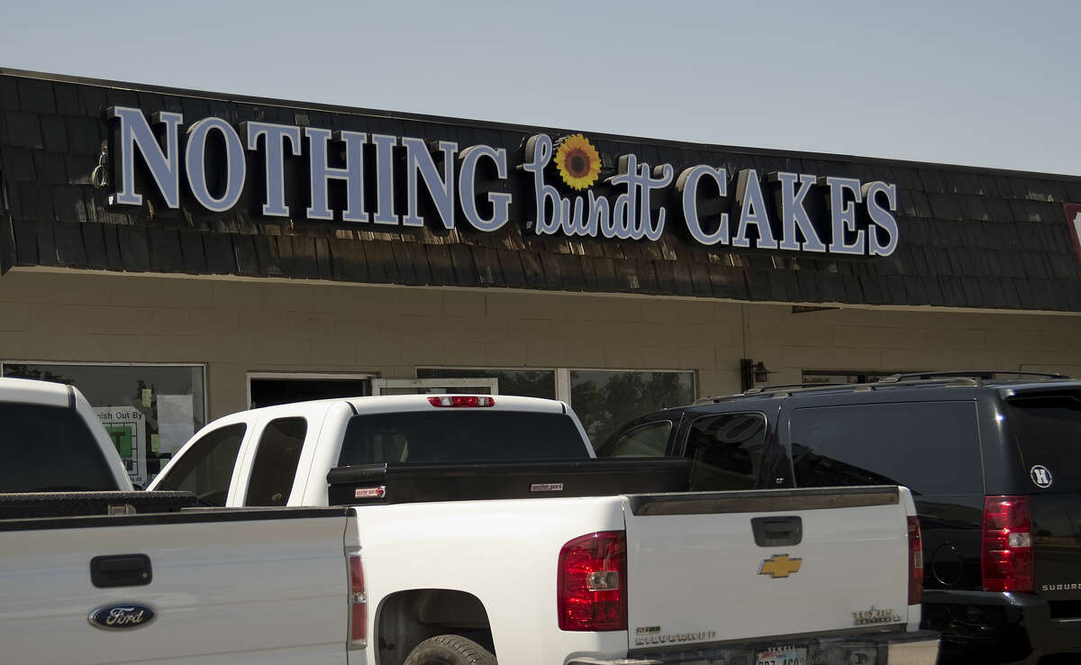 Nothing bundt Cakes seen Tuesday 7-21-15, opening soon in the plaza at 3211 W. Wadley. Tim Fischer\Reporter-Telegram