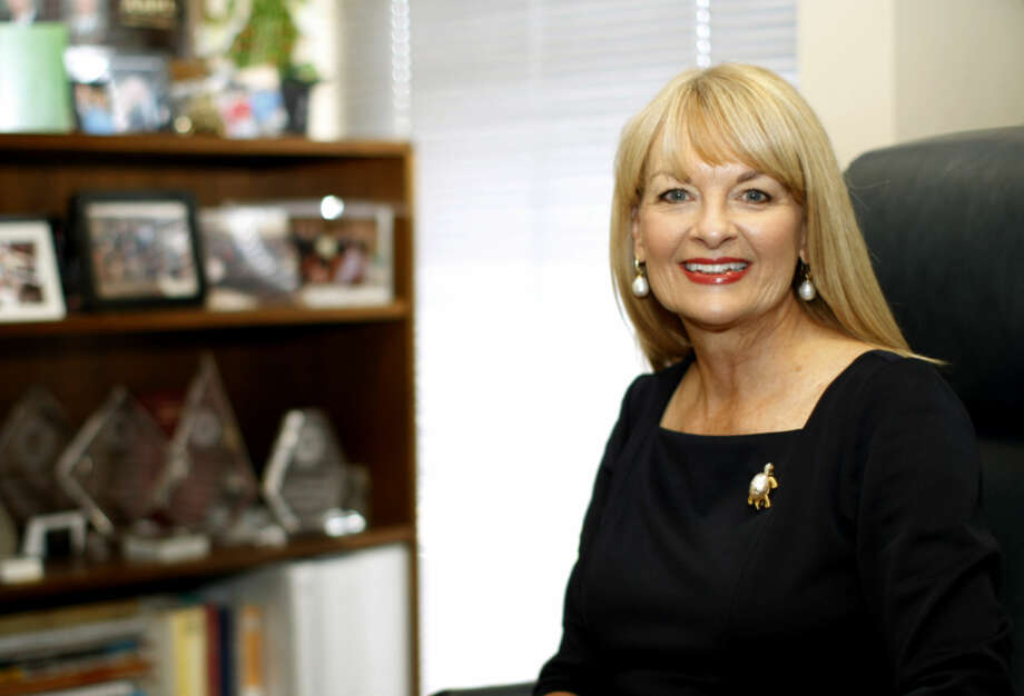 Pam Feist. recently elected vice president of the American Association of Petroleum Landmen, photographed in her office Monday, July 20, 2015. James Durbin/Reporter-Telegram Photo: James Durbin
