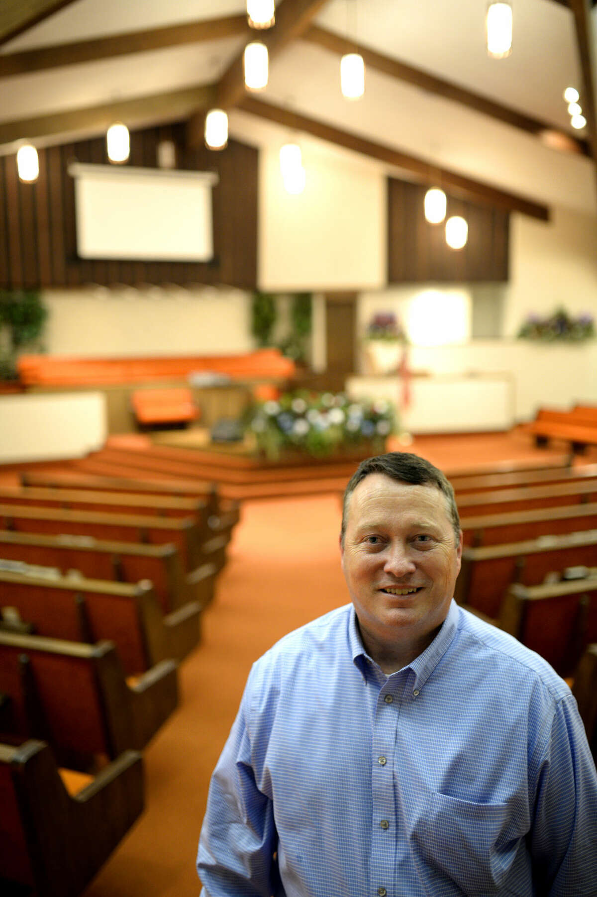 Robert Murphy is the new pastor at Alamo Heights Baptist Church, James Durbin/Reporter-Telegram