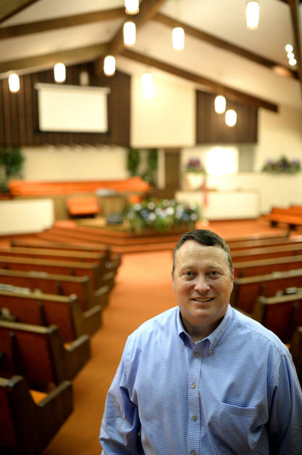 Robert Murphy is the new pastor at Alamo Heights Baptist Church, James Durbin/Reporter-Telegram Photo: James Durbin