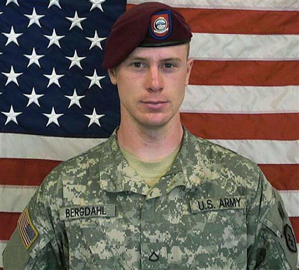 FILE - This undated file image provided by the U.S. Army shows Sgt. Bowe Bergdahl. A Pentagon investigation concluded in 2010 that Bergdahl walked away from his unit, and after an initial flurry of searching, the military decided not to exert extraordinary efforts to rescue him, according to a former senior defense official who was involved in the matter. Instead, the U.S. government pursued negotiations to get him back over the following five years of his captivity - a track that led to his release over the weekend. (AP Photo/U.S. Army, File)