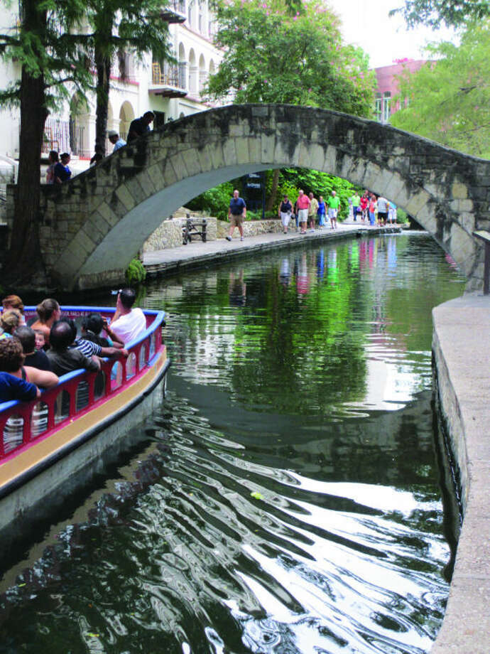From the sunrise joggers to the late night partiers, San Antonio's River Walk never closes. It was included as photo No. 19 in our SA tourist spot photo contest, Photo: Terry Scott Bertling