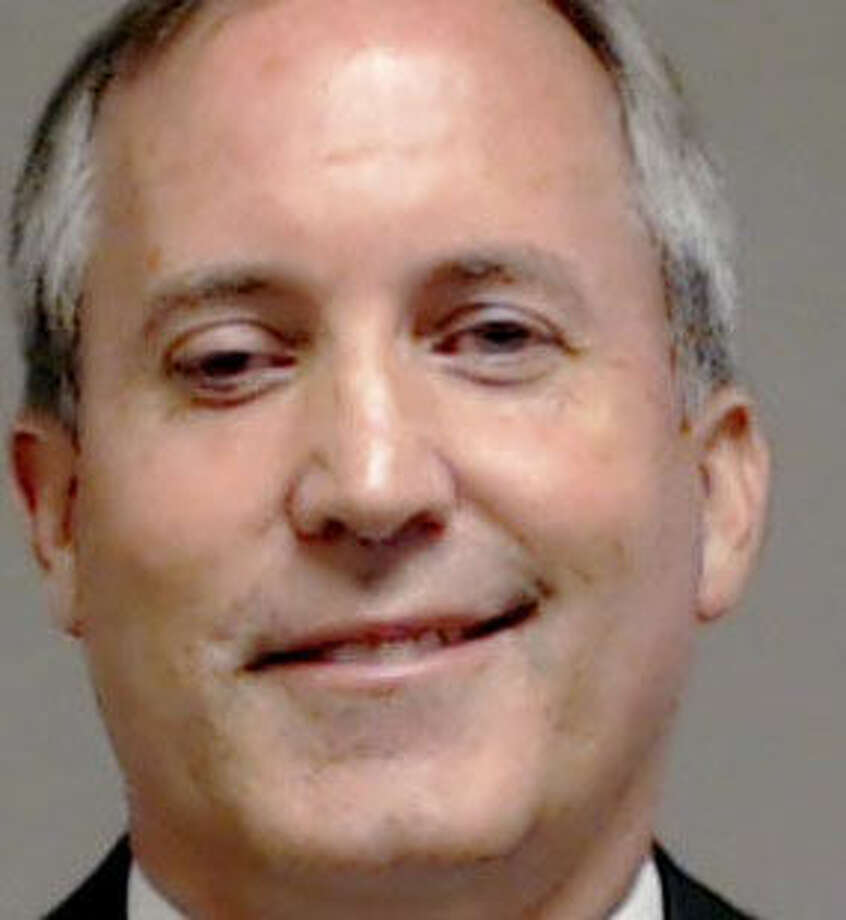 This handout photo provided by Collin County, Texas shows Texas Attorney General Kenneth Paxton, who was booked into the county jail Monday, Aug. 3, 2015, in McKinney, Texas. A grand jury last week indicted Paxton on felony securities fraud charges. (AP Photo/Collin County via AP) Photo: HOGP