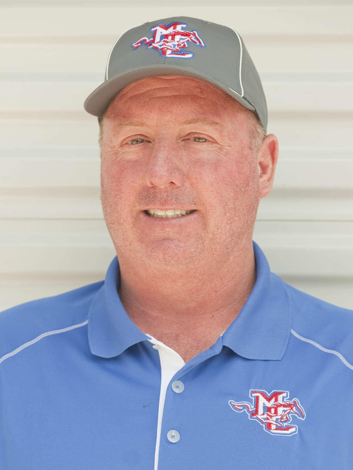 Coach Greg McClendon Tim Fischer\Reporter-Telegram