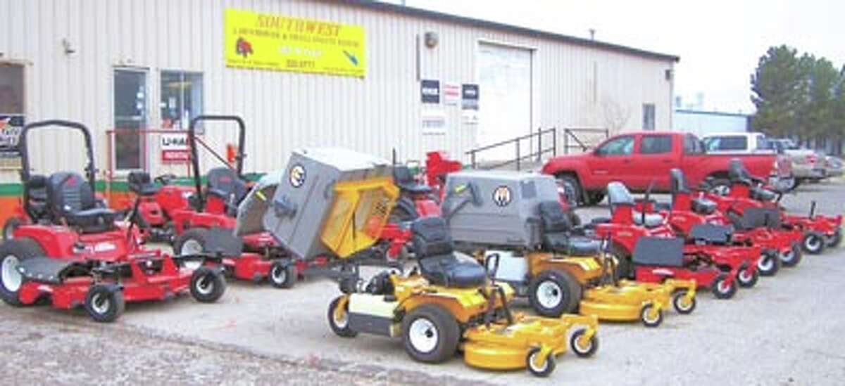 Make mowing fun again! Test drive a Walker or Country Clipper riding mower today at Southwest Lawnmower, 3105 West Front.