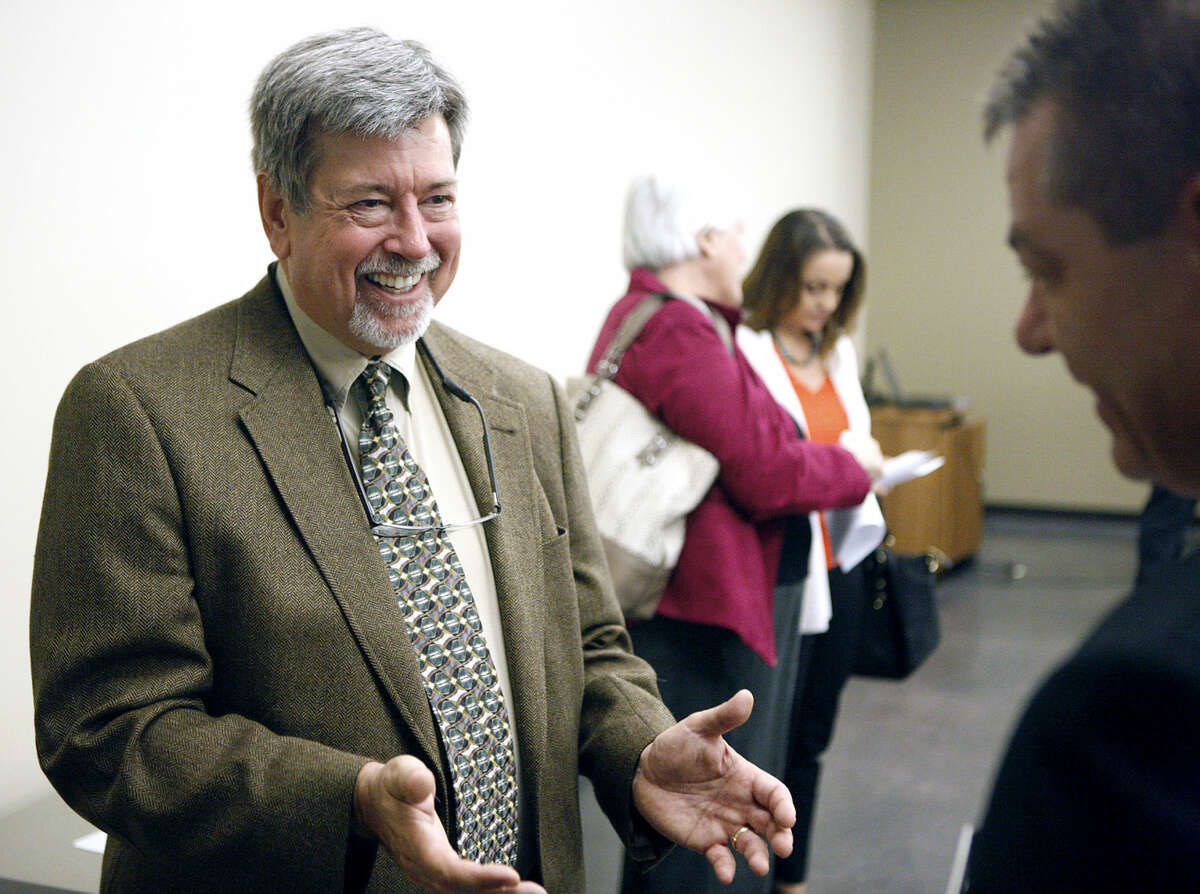 Anthony Frost will be the new MISD Petroleum Academy coordinator. Frost was introduced during a press conference Thursday, May 21, 2015 at the Midland County Public Library Centennial Branch. James Durbin/Reporter-Telegram
