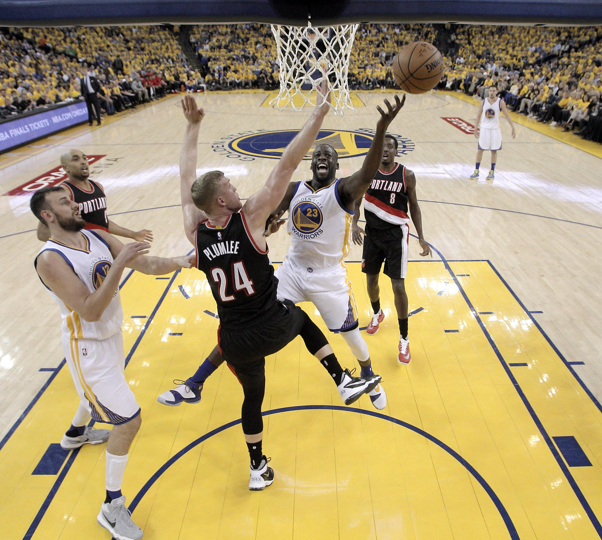 Blazers Game 3: Blazers Wary Of Draymond Green's Versatility Entering Game