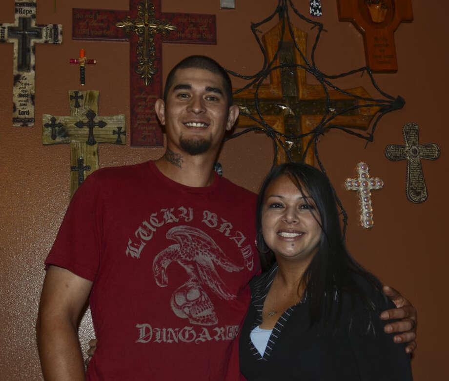 Arnold and Crystal Ochoa are foster parents. Tim Fischer\Reporter-Telegram Photo: Tim Fischer