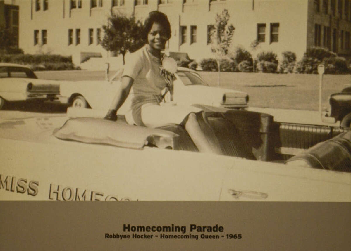 Robbyne Hocker, homecoming queen 1965. Tim Fischer\Reporter-Telegram