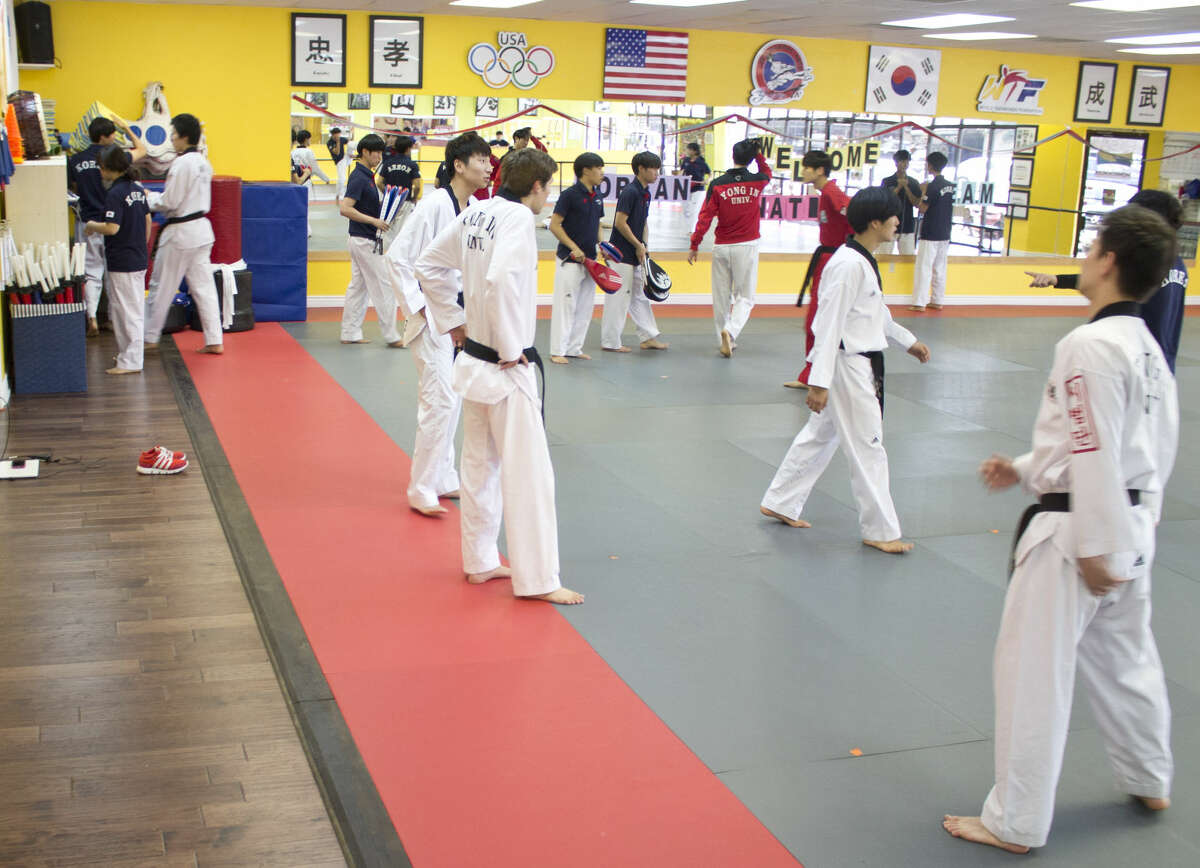 Yong In University Korean National tae kwon do team is set to perform demonstration today at the Midland Christian School Gymnasium. This will be the team's first performance in Midland.