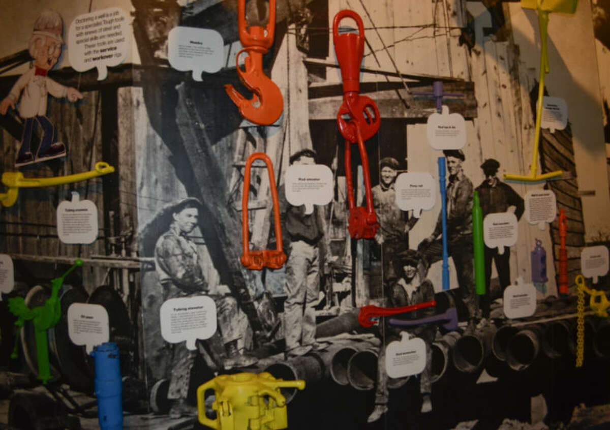 Items in the Petroleum Museum that will be put up for auction. Tim Fischer\Reporter-Telegram