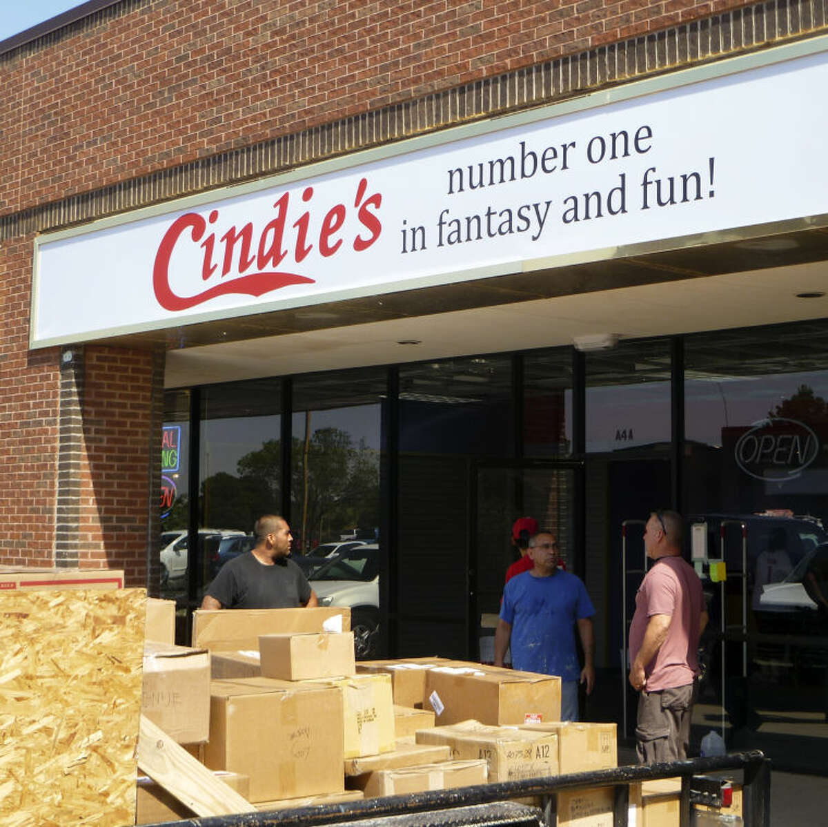 Cindie's, Houston-based lingerie store, begins stocking the new Midland store set to open in July. Photos by Cale Ottens