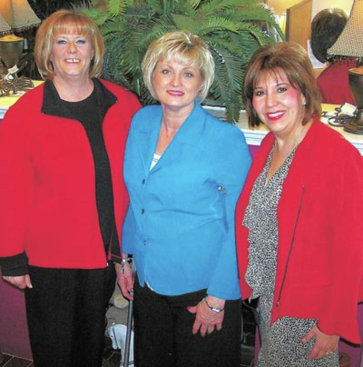 From left, Debbie Court, Fran Hawke and Patricia Gomez know that Staffing Resources is the shortest distance to a great job. Call them at 684-0527 to get started.
