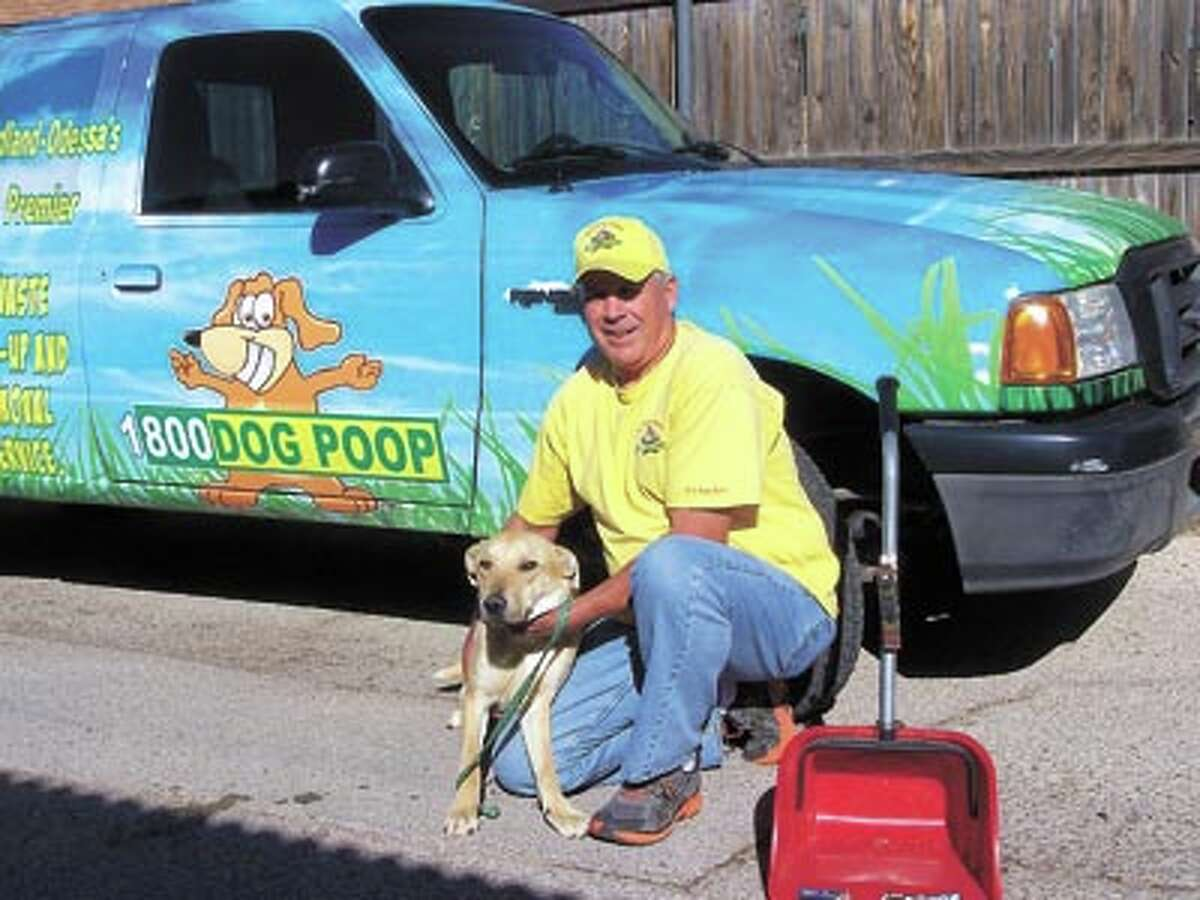 K-9 Potty Patrol's Bill Saxon cleans up after dogs like Cooper so you don't have to. Call him (Bill) at 1-800-DOG POOP or on his cell at 254-9951. Cooper doesn't have a cell phone so you can't call him.