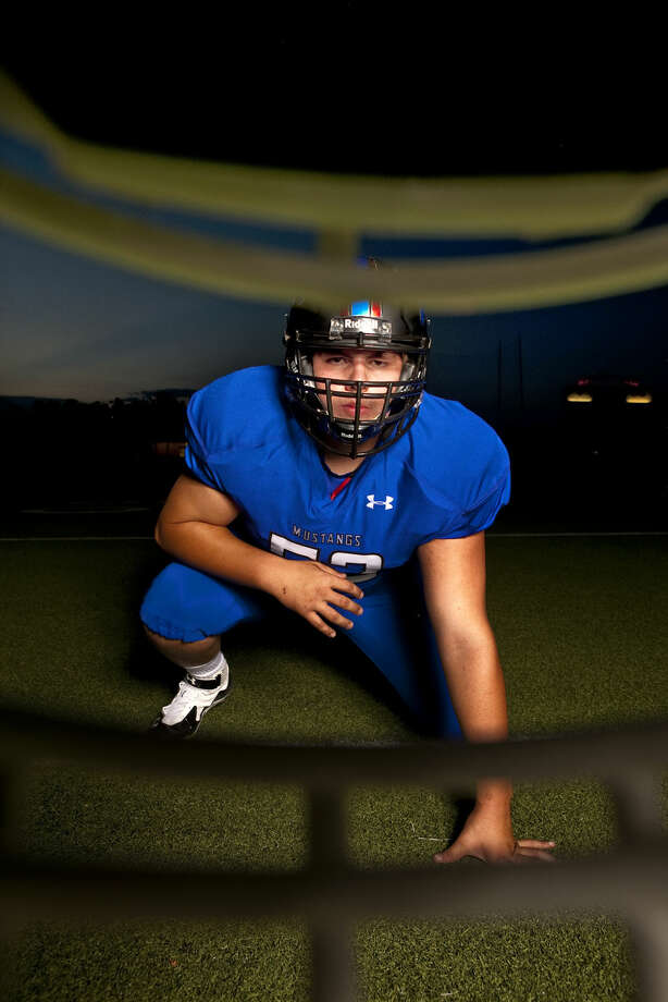 Midland Christian's Bryson Breeding in portrait Thursday, July 30, 2015. James Durbin/Reporter-Telegram Photo: James Durbin