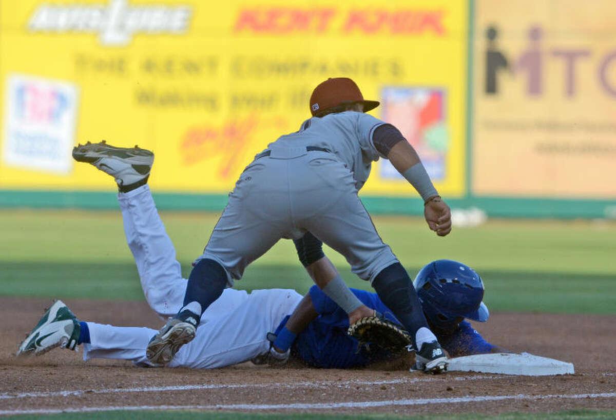 Rockhounds against Northwest Arkansas on Friday at Security Bank Ballpark. James Durbin/Reporter-Telegram