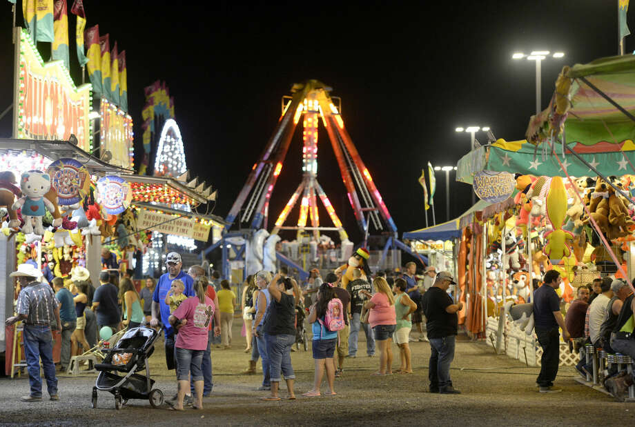 Midland County Fair on Saturday, August 22, 2015 at Horseshoe Arena. James Durbin/Reporter-Telegram Photo: James Durbin