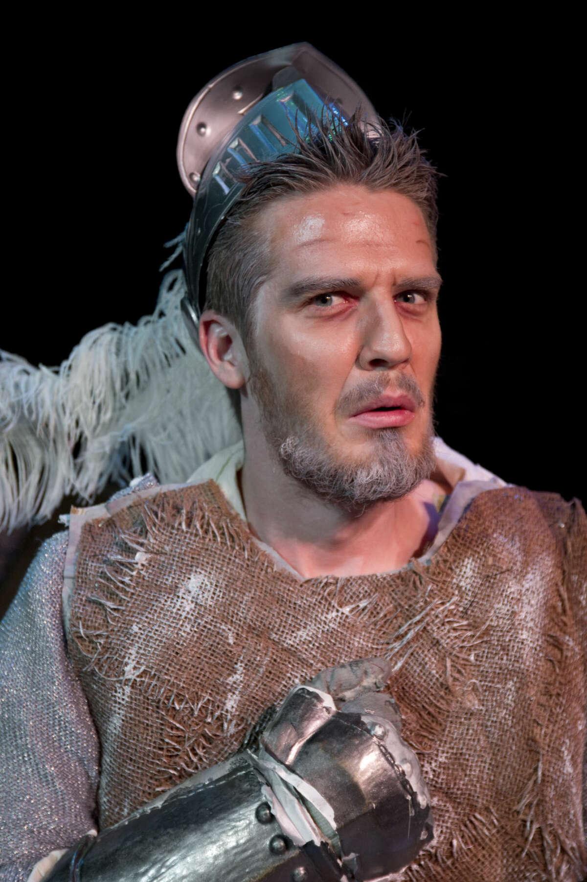 Drew Henry as Don Quixote in 'Man of La Mancha.'