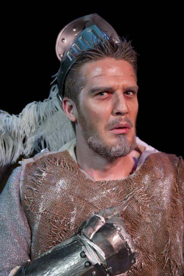 Drew Henry as Don Quixote in 'Man of La Mancha.' Photo: Tim Fischer/Reporter-Telegram