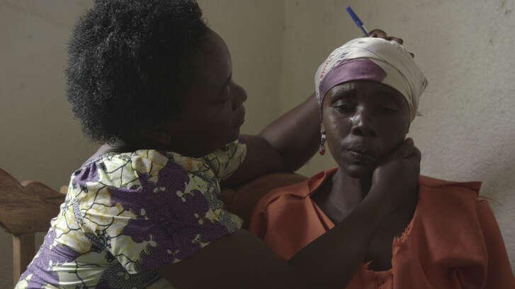 Mama Masika cares for fellow rape victims in Bugunga.