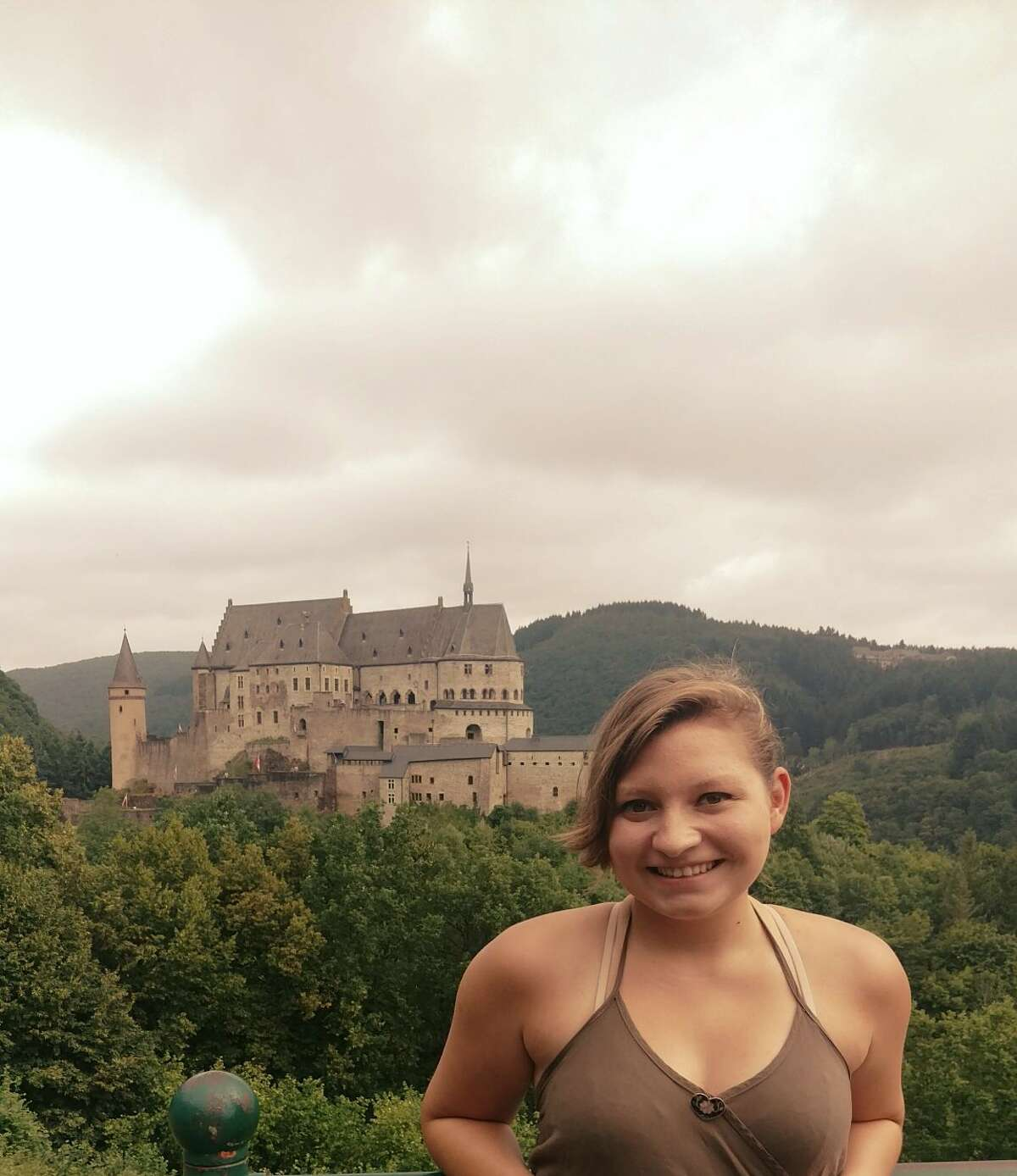 A castle in Luxembourg was among the sights Jennifer Taylor saw while on a Lions Club exchange program trip in July.