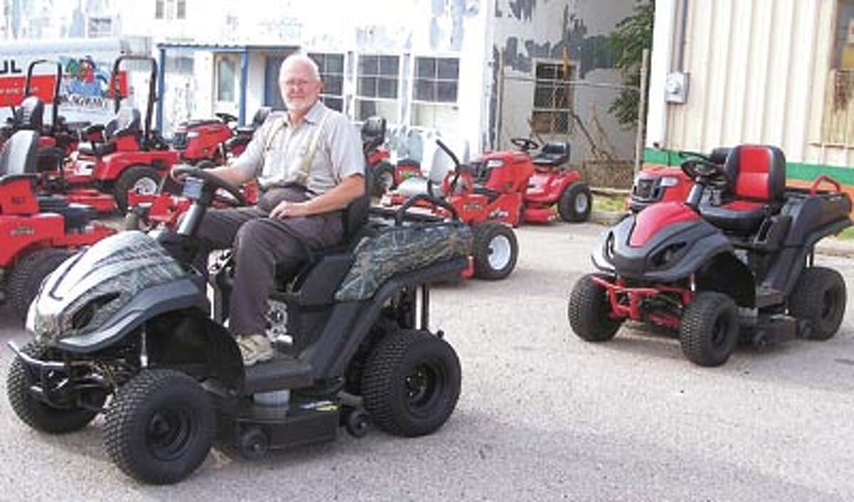 The Raven MPV7100 is a mower, an ATV and a remote electricity source says Southwest Lawnmower owner Carl Hollums. Test drive one today at 3105 West Front, across from McCoy's.