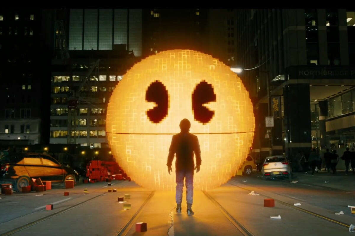 We're pretty sure the live Pac Man game at Sul Ross' first Comic Con won't be like this.