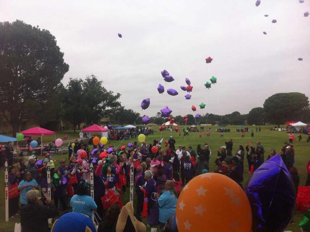 Festivities during the 2014 Relay for Life