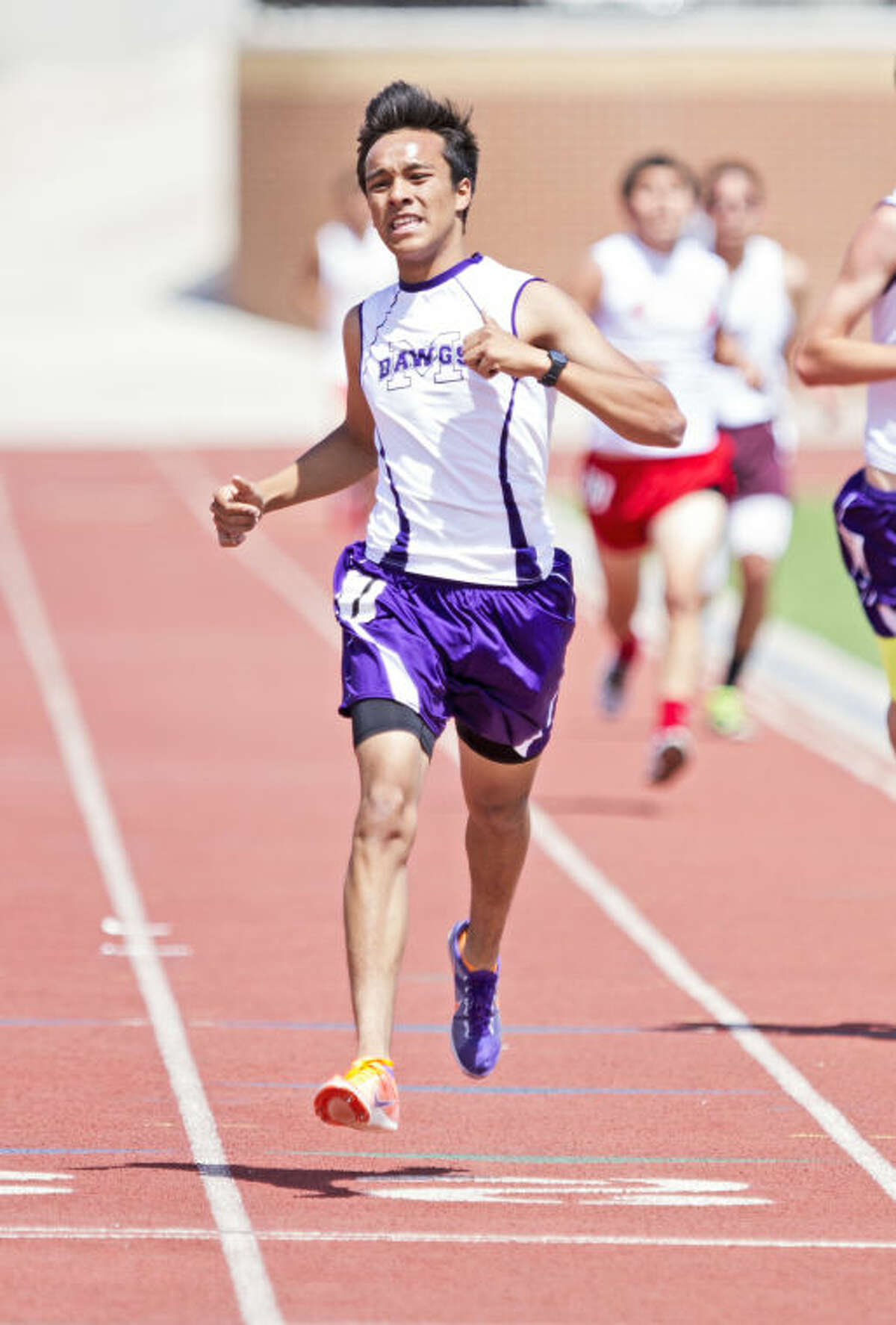 Ruben Guerra is one of three MHS runners competing in the Junior Olympics.