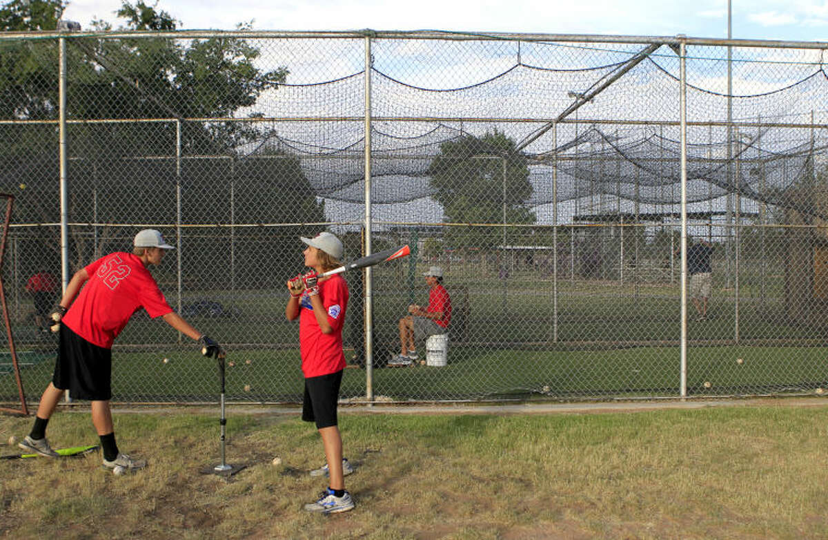 The Midland Mid City Intermediate All-Stars, seen here during a workout last week, are now 2-0 at the Southwest Regional Tournament after two big victories. James Durbin/Reporter-Telegram