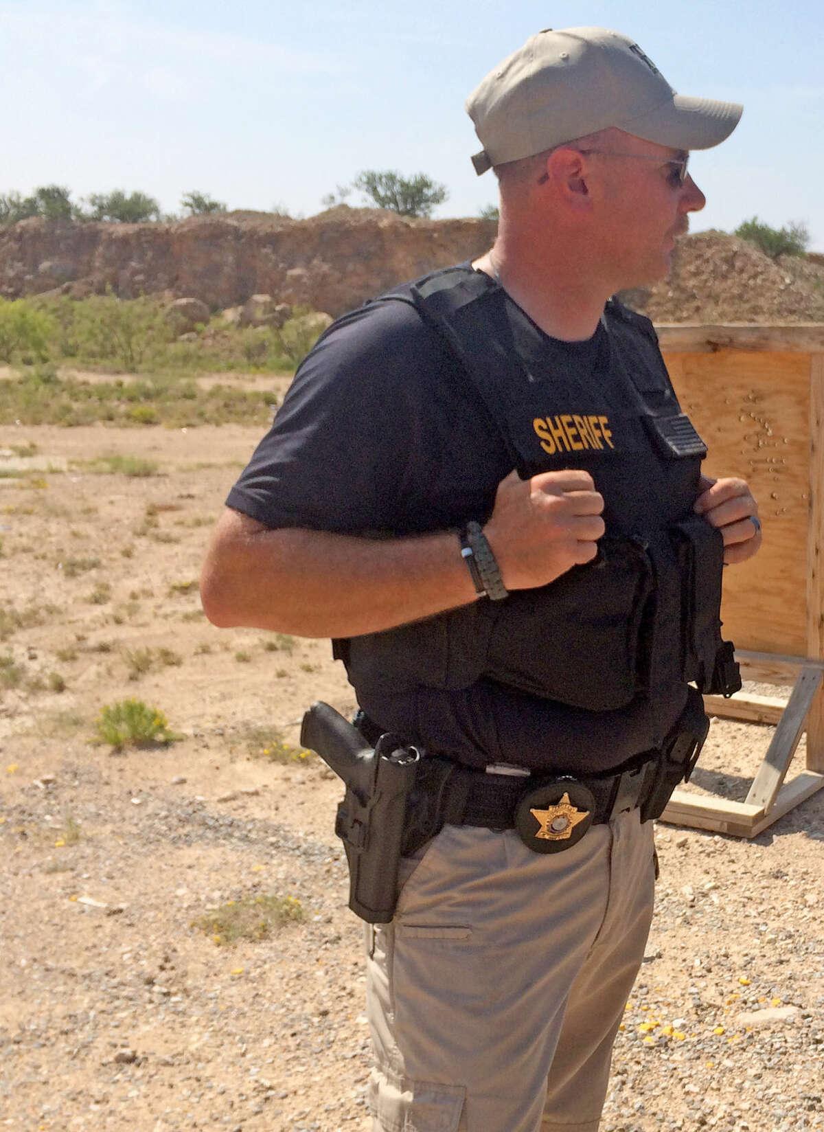 Sgt. Mike Naylor of the Midland County Sheriff's Department in a courtesy photo. Courtesty photo
