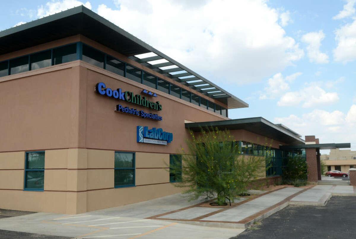 Cook Children's pediatric facility Wednesday. James Durbin/Reporter-Telegram