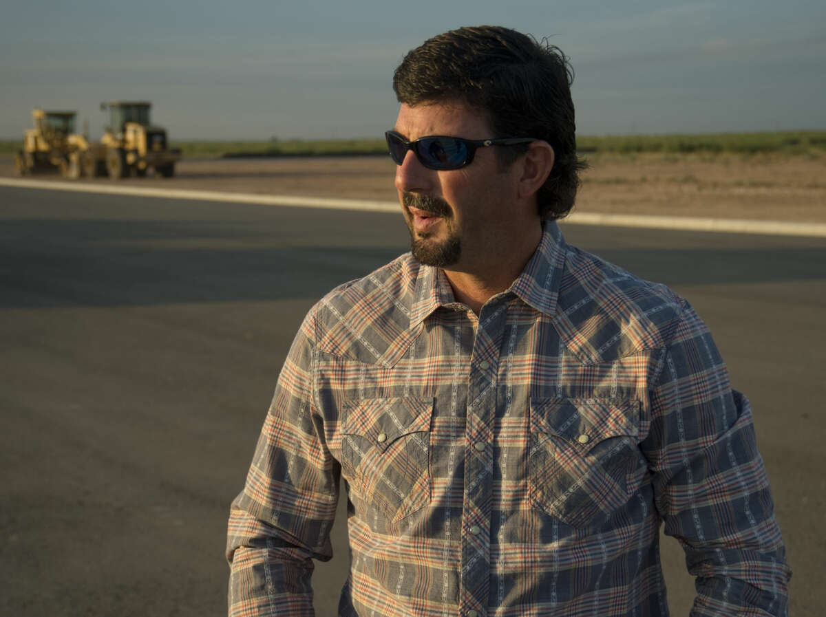 Caleb Matott, broker with Legacy Real Estate, talks about the new development he and investors have planned Thursday 9-10-2015 on a new developement south of Interstate 20 on the new extension of Loop 250. Tim Fischer\Reporter-Telegram