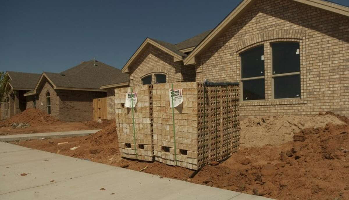 (File Photo) New home construction in Midland is high. Photo by Tim Fischer/Midland Reporter-Telegram