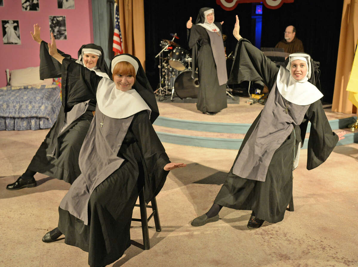 """Preview photos for """"Nunsense"""" at Midland Community Theater. The show opens Sept. 4."""