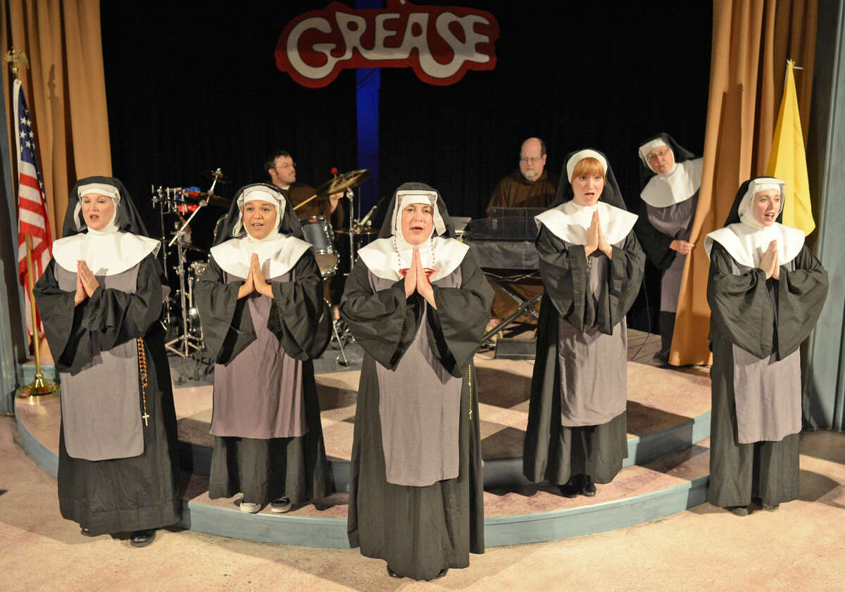 """Preview photos for """"Nunsense"""" at Midland Community Theater on Wednesday, August 26, 2015. James Durbin/Reporter-Telegram"""